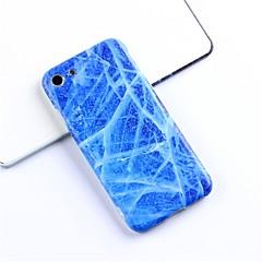 Недорогие Кейсы для iPhone X-Кейс для Назначение Apple iPhone X / iPhone 6 С узором Кейс на заднюю панель Мрамор Мягкий ТПУ для iPhone X / iPhone 8 Pluss / iPhone 8