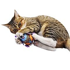 お買い得  猫用おもちゃ-キャットニップ / ぬいぐるみ / きしむおもちゃ ペットフレンドリー / 動物 / キーッ フランネル / プラッシュ 用途 猫用 / ペット用