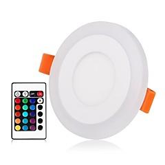 abordables Luces de Interior-ZDM® 1 juego 3 W / 6 W 45 LED Nuevo diseño / Control remoto / Regulable Luces de Panel / Luces LED Descendentes RGB + Caliente / RGB +