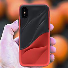 Недорогие Кейсы для iPhone-Кейс для Назначение Apple iPhone X / iPhone 8 Защита от удара Кейс на заднюю панель Полосы / волосы Мягкий ТПУ для iPhone X / iPhone 8 Pluss / iPhone 8