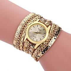 お買い得  レディース腕時計-L.WEST 女性用 ブレスレットウォッチ 中国 カジュアルウォッチ 合金 バンド カジュアル / ファッション ブラック / 白 / シルバー