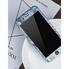 Недорогие Кейсы для iPhone 5-Кейс для Назначение Apple iPhone X / iPhone 8 С узором Чехол Мрамор Твердый ПК для iPhone X / iPhone 8 Pluss / iPhone 8