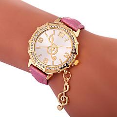 お買い得  レディース腕時計-Xu™ 女性用 ドレスウォッチ / リストウォッチ 中国 クリエイティブ / カジュアルウォッチ / かわいい PU バンド ファッション / エレガント ブラック / 白 / ブルー