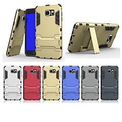 Недорогие Чехлы и кейсы для Galaxy Note 5-Кейс для Назначение SSamsung Galaxy Note 5 со стендом Кейс на заднюю панель Однотонный Твердый ПК для Note 5