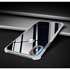 Недорогие Кейсы для iPhone 7 Plus-Кейс для Назначение Apple iPhone X / iPhone 8 Защита от удара Кейс на заднюю панель Однотонный Мягкий ТПУ для iPhone X / iPhone 8 Pluss / iPhone 8