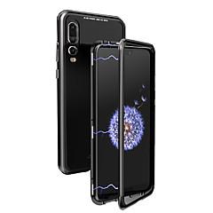 お買い得  Huawei Pシリーズケース/ カバー-ケース 用途 Huawei P20 / P20 Pro フリップ / クリア フルボディーケース ソリッド ハード メタル のために Huawei P20 / Huawei P20 Pro