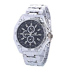 preiswerte Damenuhren-Xu™ Damen Kleideruhr / Armbanduhr Chinesisch Kreativ / Armbanduhren für den Alltag / Großes Ziffernblatt Legierung Band Luxus / Modisch Silber
