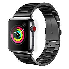 abordables Correas para Apple Watch-Ver Banda para Apple Watch Series 3 / 2 / 1 Apple Hebilla Clásica Acero Inoxidable Correa de Muñeca