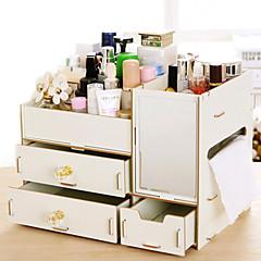 abordables Almacenamiento de Joyería y Maquillaje-Madera Rectángulo Nuevo diseño / Cool Casa Organización, 1pc Organizadores de Herramientas / Organizadores de Joyas / Almacenamiento de Maquillaje