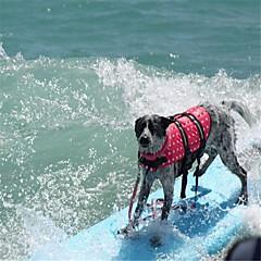 お買い得  犬用ウェア&アクセサリー-ネズミ / 犬用 / ウサギ ライフジャケット 犬用ウェア シンプル / その他 フクシャ / グリーン / ブルー ポリエステル100% コスチューム ペット用 女性 スポーツ&アウトドア / 高品質