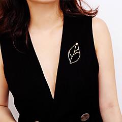 abordables Bijoux pour Femme-Femme Broche - Thème floral Doux, Mode, Elégant Broche Or / Argent Pour Cadeau / Anniversaire
