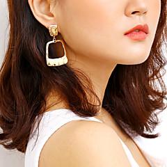 preiswerte Ohrringe-Damen Lang Tropfen-Ohrringe - Einfach, Modisch Gold / Silber Für Alltag / Ausgehen