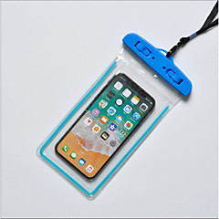 abordables Fundas y Bolsas Universales-Funda Para Apple iPhone X / iPhone 8 Plus Impermeable Bolsa Un Color Suave TPU para iPhone X / iPhone 8 Plus / iPhone 8