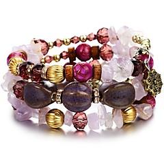preiswerte Armbänder-Damen Klassisch Retro Wickelarmbänder - Kreativ Tropisch, Romantisch Armbänder Blau / Rosa / Hellblau Für Alltag Festival
