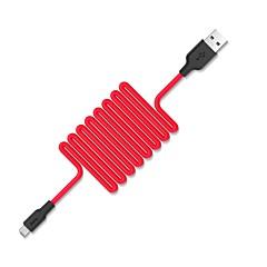 abordables Cables y Adaptadores para Teléfono-Micro USB Adaptador de cable USB Alta Velocidad / Carga rapida Cable Para Samsung / Huawei / Xiaomi 100 cm Gel de sílice