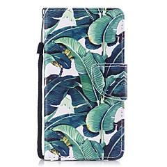 Недорогие Кейсы для iPhone 7-Кейс для Назначение Apple iPhone 8 / iPhone 7 Кошелек / Бумажник для карт / Флип Чехол дерево Твердый Кожа PU для iPhone 8 / iPhone 7