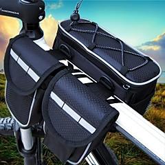 abordables Bolsas para Bicicleta-10 L Bolsa para Cuadro de Bici Impermeable, Multi capa, Listo para vestir Bolsa para Bicicleta Nailon Bolsa para Bicicleta Bolsa de Ciclismo Ciclismo Bicicleta