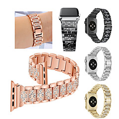 abordables Accesorios para Apple Watch-Ver Banda para Fitbit Blaze / Apple Watch Series 3 / 2 / 1 Apple Correa Deportiva Acero Inoxidable Correa de Muñeca