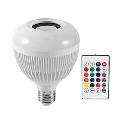 お買い得  LED 電球-KWB 1個 12 W 1200 lm E26 / E27 LEDスマート電球 G95 28 LEDビーズ SMD Smart / Bluetooth / 調光可能 RGBW 100-240 V