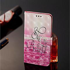 Недорогие Чехлы и кейсы для Xiaomi-Кейс для Назначение Xiaomi Mi 8 / Mi 6X Кошелек / Бумажник для карт Чехол Пейзаж Твердый Кожа PU для Xiaomi Redmi Note 5 Pro / Xiaomi Mi Mix 2S / Xiaomi Mi 8