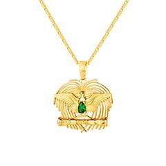 お買い得  ネックレス-女性用 キュービックジルコニア ソリティア ペンダントネックレス  -  鳥 ファッション ゴールド 55 cm ネックレス ジュエリー 1個 用途 贈り物, 日常