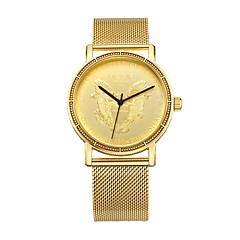 お買い得  メンズ腕時計-MEGIR スポーツウォッチ ドレスウォッチ エミッタ 耐水, カジュアルウォッチ, クール ゴールド / 日本産 / 日本産