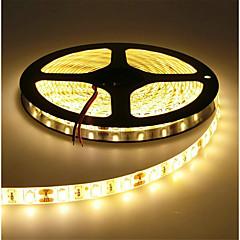 preiswerte LED Lichtstreifen-HKV 5m Flexible LED-Leuchtstreifen 300 LEDs SMD5630 Warmes Weiß / Kühles Weiß Schneidbar / Verbindbar / Selbstklebend 12 V