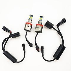 Недорогие Автомобильные фары-80w подходит для bmw e60 e61 e63 e82 e87 e90 e92 e93 m6 x5 x6 светодиодный ангел