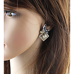 preiswerte Ohrringe-Damen Stilvoll Tropfen-Ohrringe - Blume, Glücklich Grundlegend, Modisch Champagner Für Alltag / Verabredung