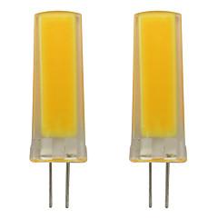 preiswerte LED-Birnen-2pcs 3 W 150-200 lm G4 LED Doppel-Pin Leuchten 1 LED-Perlen COB Dekorativ Warmes Weiß / Kühles Weiß 110-120 V