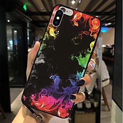 Недорогие Кейсы для iPhone 6-Кейс для Назначение Apple iPhone X / iPhone 8 С узором Кейс на заднюю панель Пейзаж Мягкий ТПУ для iPhone X / iPhone 8 Pluss / iPhone 8