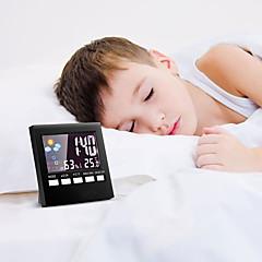 お買い得  クロック-目覚まし時計 LED プラスチック 自動巻き腕時計 1 pcs