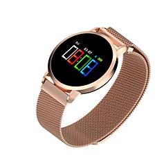 abordables Relojes Inteligentes-Reloj elegante F1 pro para Android iOS Bluetooth Deportes Impermeable Monitor de Pulso Cardiaco Medición de la Presión Sanguínea Pantalla Táctil Podómetro Seguimiento de Actividad Seguimiento del