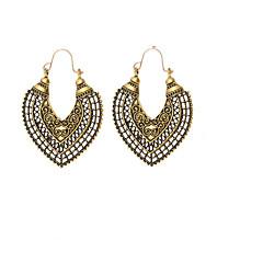 preiswerte Ohrringe-Damen Synthetischer Tansanit Lang Tropfen-Ohrringe - Kreativ Retro, Ethnisch, Modisch Gold / Silber Für Party / Geburtstag