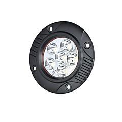 Недорогие Противотуманные фары-Lights Maker 1 шт. Автомобиль Лампы 18 W SMD 3030 6 Светодиодная лампа Противотуманные фары Назначение Универсальный Все года