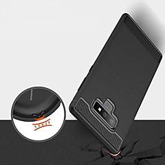 Недорогие Чехлы и кейсы для Galaxy Note 5-Кейс для Назначение SSamsung Galaxy Note 9 / Note 8 Ультратонкий Кейс на заднюю панель Однотонный Мягкий ТПУ для Note 9 / Note 8 / Note 5