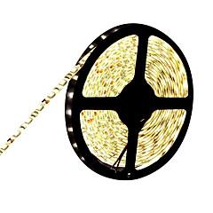 preiswerte LED Lichtstreifen-HKV 5m Flexible LED-Leuchtstreifen 300 LEDs 5050 SMD Warmes Weiß / Kühles Weiß / Blau Schneidbar / Verbindbar / Selbstklebend 12 V
