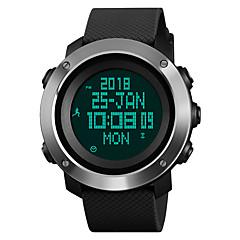 preiswerte Digitaluhren-SKMEI Sportuhr Militäruhr Sender Wasserdicht, Alarm, Kalender Schwarz / Grün / Ein Jahr / Edelstahl / Japanisch / Chronograph / Kompass