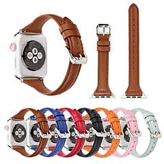 abordables Correas para Apple Watch-Ver Banda para Apple Watch Series 4/3/2/1 Apple Correa de Cuero Cuero Auténtico Correa de Muñeca