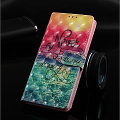 Недорогие Кейсы для iPhone 7-Кейс для Назначение Apple iPhone XR / iPhone XS Max Кошелек / Бумажник для карт / со стендом Чехол Пейзаж Твердый Кожа PU для iPhone XS / iPhone XR / iPhone XS Max