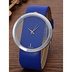お買い得  大特価腕時計-女性用 リストウォッチ クォーツ カジュアルウォッチ レザー バンド ハンズ カジュアル ファッション エレガント ブラック / 白 / ブルー - レッド ブルー ピンク 1年間 電池寿命 / SSUO LR626