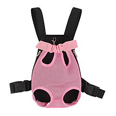 cheap Dog Supplies & Grooming-Dogs / Cats Carrier & Travel Backpack Pet Carrier Portable / Casual / Daily Solid Colored Red / Blue / Pink