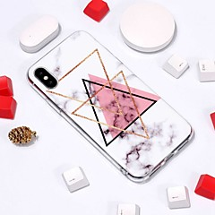 abordables Fundas para iPhone 4s / 4-Funda Para Apple iPhone XR / iPhone XS Max Diseños Funda Trasera Mármol Suave TPU para iPhone XS / iPhone XR / iPhone XS Max