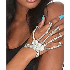 preiswerte Armbänder-Damen Retro Ring-Armbänder - Totenkopf Erklärung, damas, Punk Armbänder Schmuck Gold / Silber Für Halloween