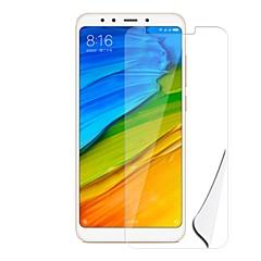 Недорогие Защитные плёнки для экранов Xiaomi-Защитная плёнка для экрана для XIAOMI Xiaomi Redmi 5 PET 10 ед. Защитная пленка для экрана HD / Защита от царапин