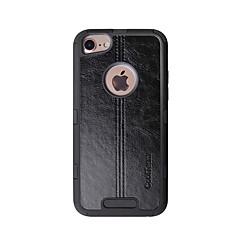 Недорогие Кейсы для iPhone-Кейс для Назначение Apple iPhone 6 / iPhone 6s Защита от удара Кейс на заднюю панель Однотонный / Полосы / волосы Твердый ТПУ для iPhone 6s / iPhone 6