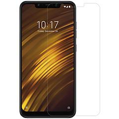 Недорогие Защитные плёнки для экранов Xiaomi-протектор экрана nillkin для xiaomi xiaomi pocophone f1 закаленное стекло / домашнее животное 1 шт спереди& протектора объектива высокой четкости (hd) / 9h твердость / 2.5d изогнутый край