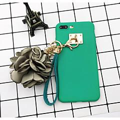 Недорогие Кейсы для iPhone-Кейс для Назначение Apple iPhone 7 Plus / iPhone 6s Своими руками Кейс на заднюю панель Однотонный Мягкий ТПУ для iPhone X / iPhone 8 Pluss / iPhone 8