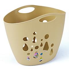abordables Almacenamiento para Baño y Colada-El plastico Rectángulo Nuevo diseño / Cool Casa Organización, 1pc Bolsa y Cubo para Colada