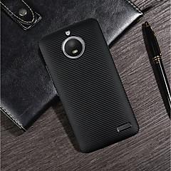 Недорогие Чехлы и кейсы для Motorola-Кейс для Назначение Motorola MOTO G6 / G5 Plus Ультратонкий / Матовое Кейс на заднюю панель Однотонный Мягкий Углеродное волокно для Moto Z2 play / MOTO G6 / Moto G5s Plus
